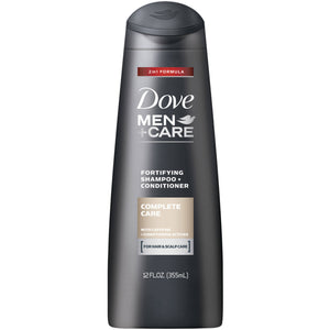 Dove Men + Car Shampoo 2in1 Complete Care 355ml