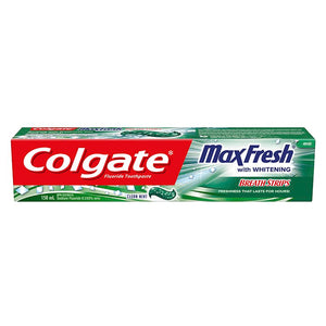 Colgate Fluoride Toothpaste Max-fresh with Whitening Clean Mint 150ml