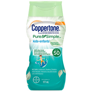 Coppertone Pure & Simple Kids SPF 50 177ml