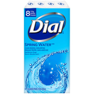Dial Spring Water Soap 8 Bars