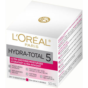 L'Oreal Paris Hydra-Total 5 Ultra-Soothing Moisturizer 50ml