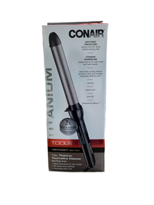 "Conair 1"" Clipless Curling Iron"