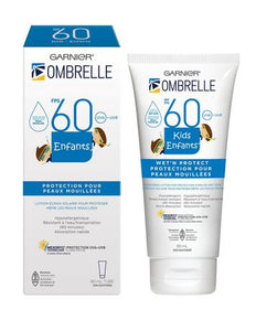 Garnier Ombrelle SPF 60 Kids Wet'n Protect Sunscreen Lotion 90ml