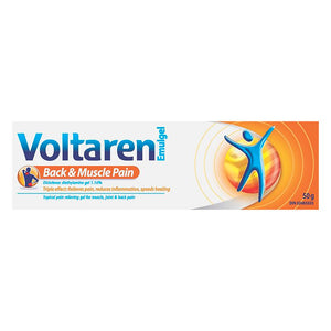 Voltaren Back and Muscle