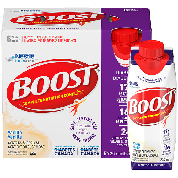 Boost Diabetic 6x237mL