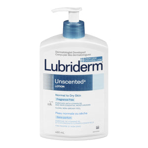 Lubriderm Unscented Lotion 480ml
