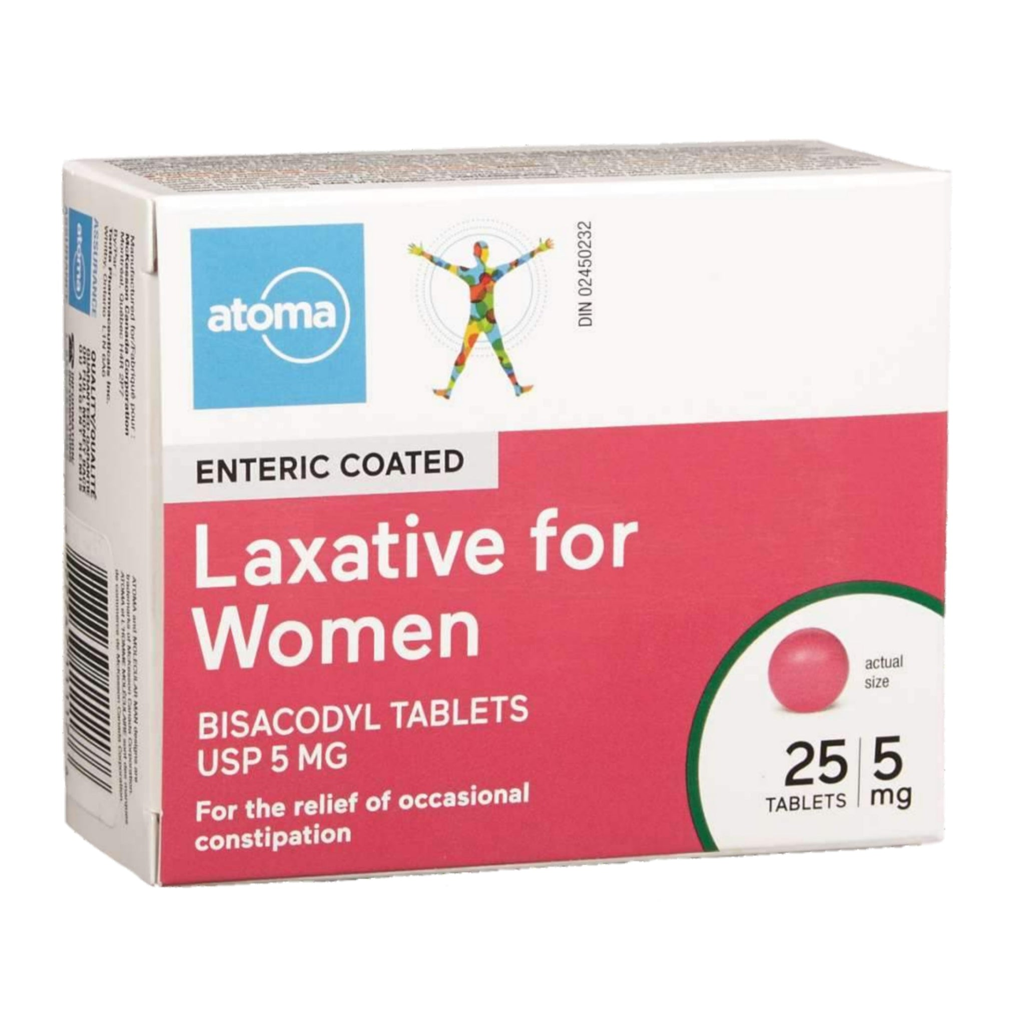 Atoma Laxative for Women 5mg 25 tablets