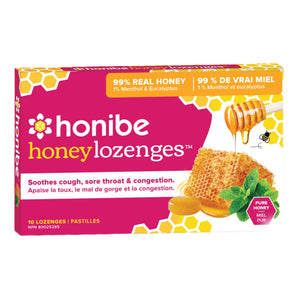 Honibe Honey Lozenges 10 Lozenges