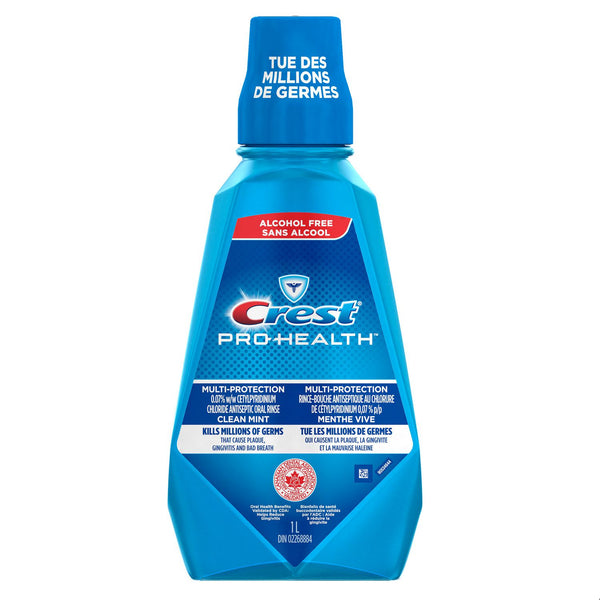 Crest Pro-Health Antiseptic Oral Rinse Clean Mint