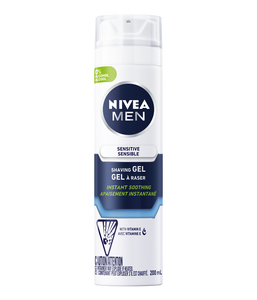 Nivea Instant Soothing Sensitive Shaving Gel 200ml