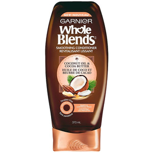 Garnier Whole Blends Smoothing Conditioner 370ml