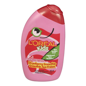 L'Oreal Kids 2in1 Extra Gentle Shampoo Strawberry Smoothie 265ml