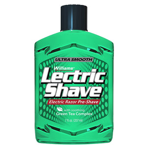 Williams Lectric Shave Electric Razor Pre-Shave 210ml