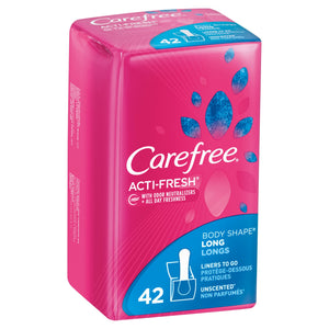 Carefree Acti-Fresh Long Liners 42