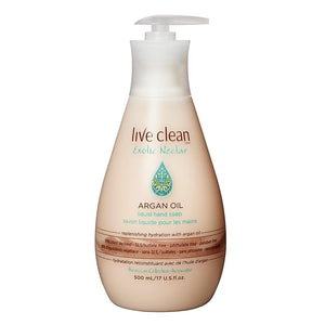 Live Clean Argan Oil Liquid Hand Soap 500ml