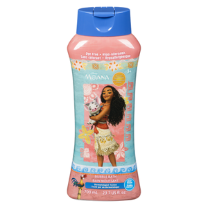 Disney Moana Tear Free Bubble Bath Burstin Juice Berry Scented 700ml
