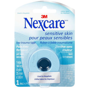 Nexcare Sensitive Skin Low Trauma Tape