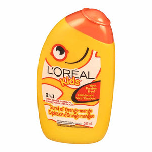L'Oreal Kids 2in1 Extra Gentle Shampoo Burst of Orange-Mango 265ml