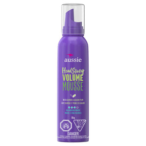 Aussie HeadStrong Volume Mousse 170g