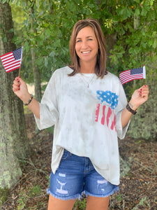 Old Glory Mineral Wash Tee