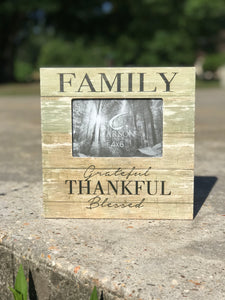 Wooden Family 4 x 6 Picture Frame - Jessi Jayne Boutique