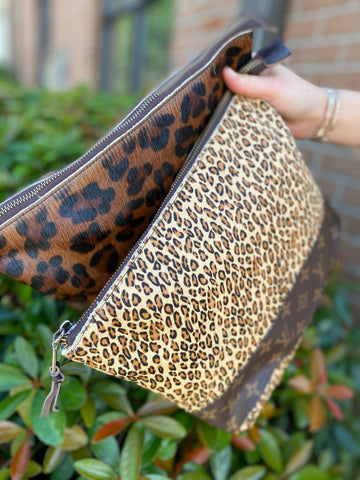 Jaded Gypsy Large Leopard Pouch