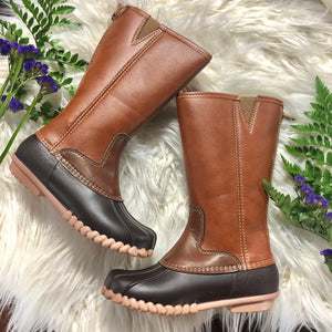 Outwoods Kids Tall Duck Boot - Jessi Jayne Boutique