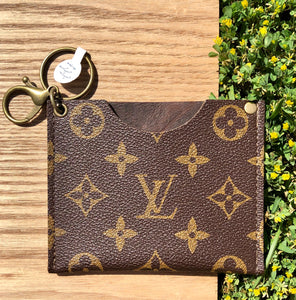 Keep It Gypsy Key Chain Card Holder/ Money Pouch - Jessi Jayne Boutique
