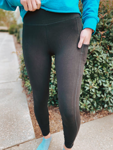 Power House Go-To Butter Leggings with Side Pockets Smalll-3XL