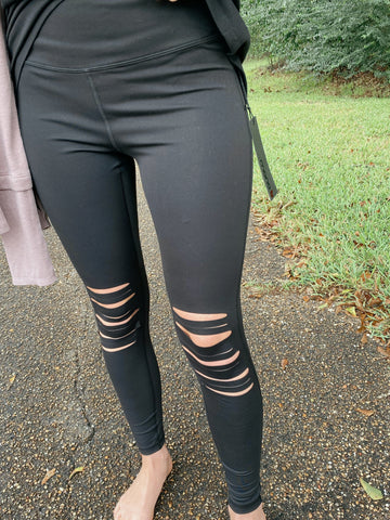 All Cut Up High Waist Leggings