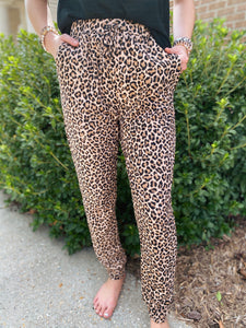 Count On Me Leopard Joggers