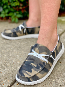 Hooray Camo Slip On Sneaker - Jessi Jayne Boutique