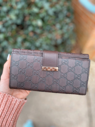 Pre Loved Gucci Guccissima Wallet