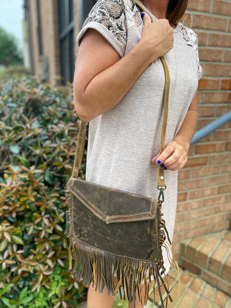 Myra Cowgirl's Love Leather Bag - Jessi Jayne Boutique