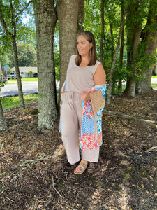 Forever Beauty Sleeveless Jumpsuit - Jessi Jayne Boutique