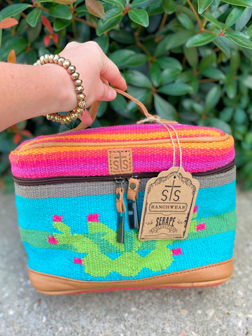 STS Cactus Train Makeup Case