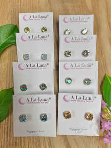 8mm ER Studs - Jessi Jayne Boutique