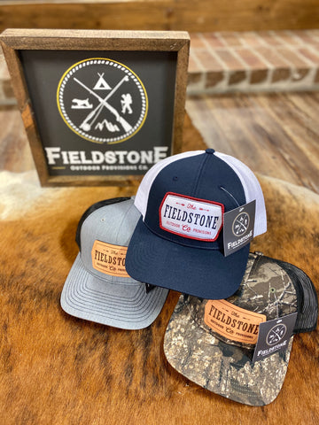 The Fieldstone Patch Low-Pro 115 Trucker Hat