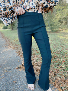 Dance In The Dark Black Flare Pants