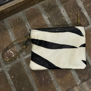 Myra White Wilderness Hairon Pouch - Jessi Jayne Boutique