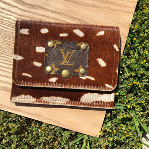 Keep It Gypsy Axis Hide Floral Wallet LV - Jessi Jayne Boutique