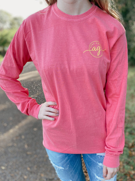 Take The Backroads Long Sleeve Tee