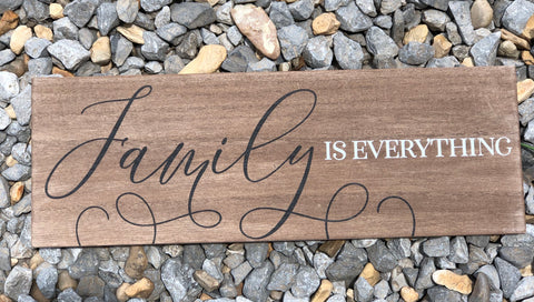 Wall Plaque - Family is Everything - Jessi Jayne Boutique