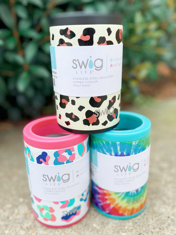Swig 12oz Combo Coolers (6 Colors)