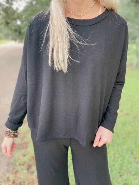 Chase The Night Long Sleeve Top
