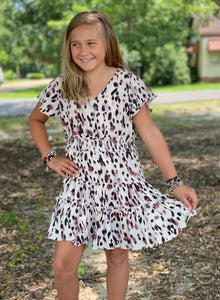 Kids Pretty in Pink Leopard Dress - Jessi Jayne Boutique