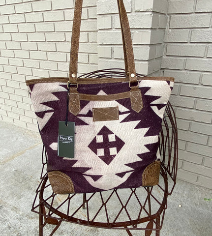 Myra Earthy Tote Bag