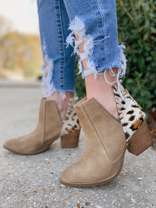 Camilyn Naughty Monkey Heel Booties
