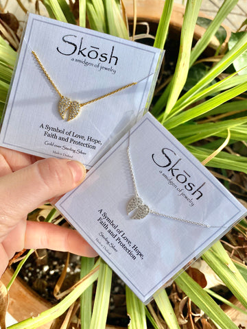 SKOSH Love, Hope, Faith, and Protection Necklace