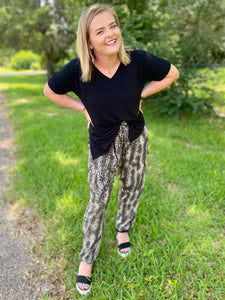 Wild Days Ahead Leopard Cargo Pants